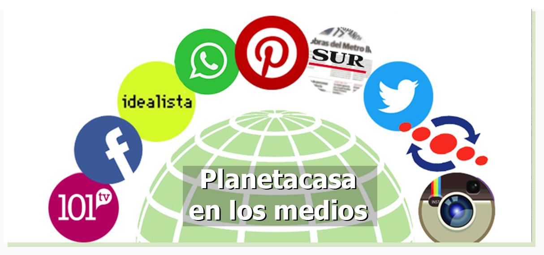 Planetacasa en los medios