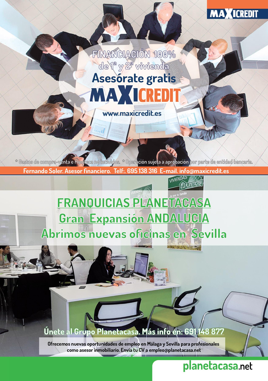 Financiacion y Franquicias Planetacasa Revista Mayo 2018