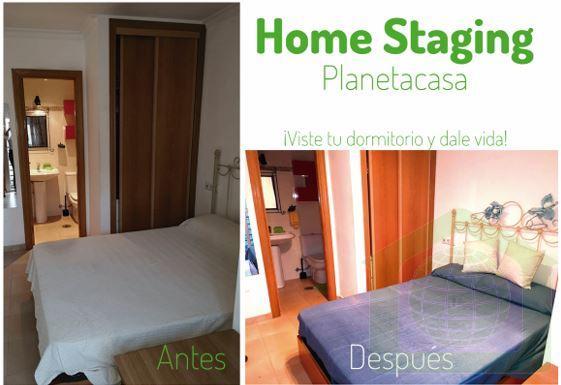 Home Staging antes y despues de decorar un piso planetacasa inmobiliaria malaga 1