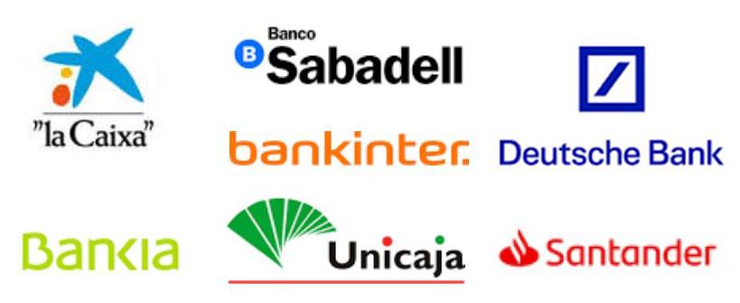 Bancos colaboradores intermediación Bancaria Malaga