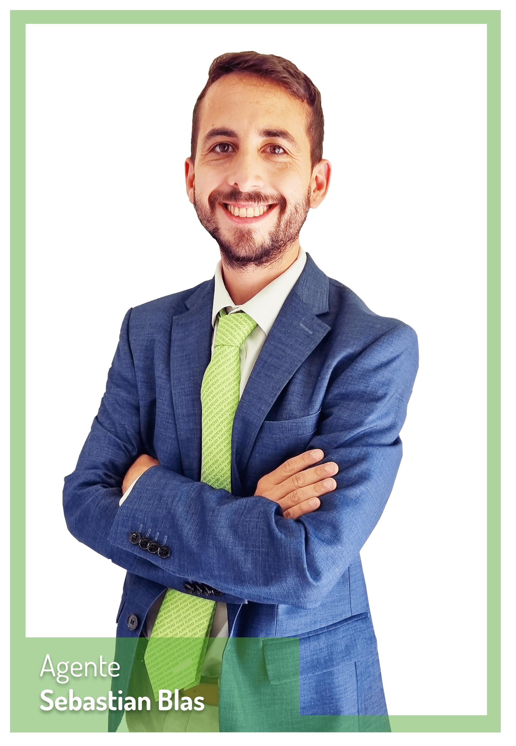 Sebastian Blas Agente Inmobiliario Planetacasa Ciudad Jardin