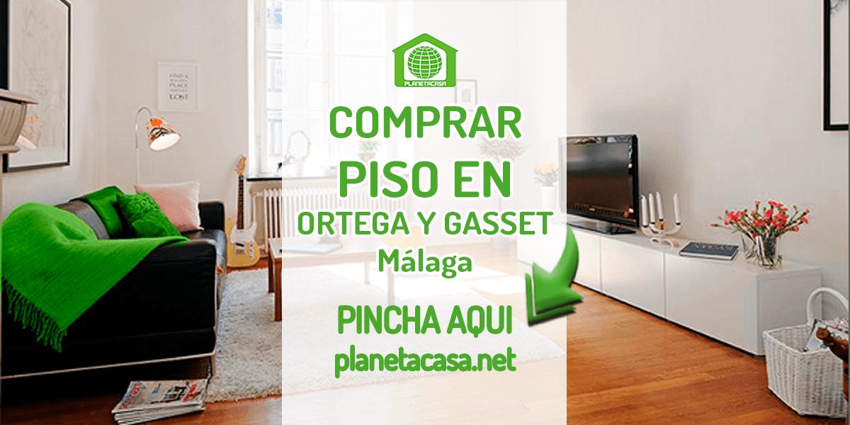 comprar piso en Ortega y Gasset malaga
