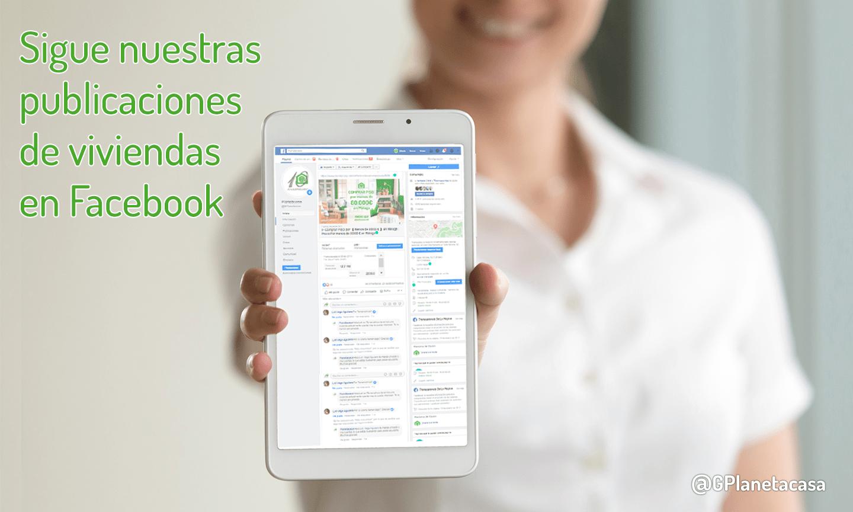 los mejores portales inmobiliarios de facebook con planetacasa Inmobiliaria Málaga
