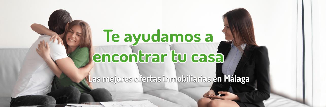 Buscamos tu vivienda en Málaga.