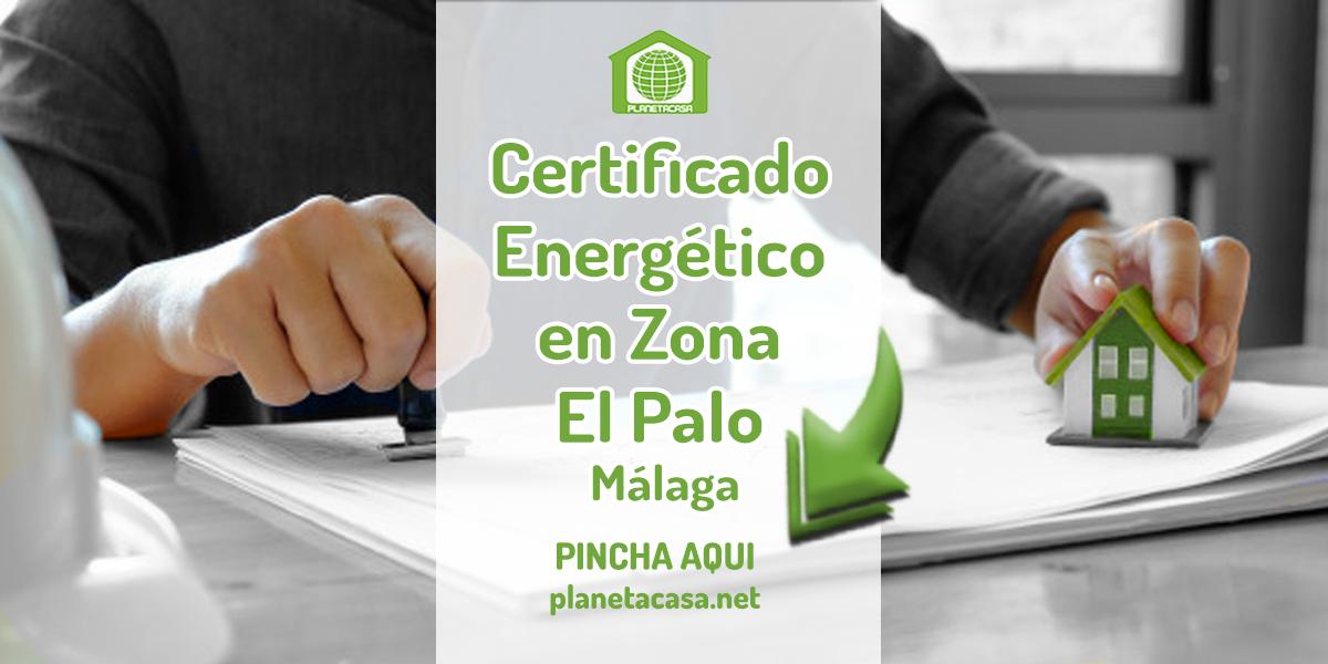 Certificado energético en el Palo