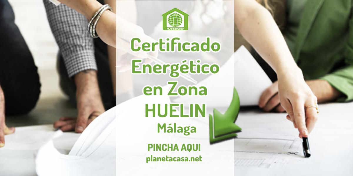 Certificado energético en Huelin