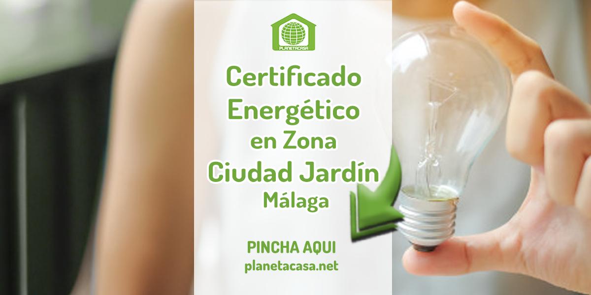 Certificado energético en Ciudad Jardín